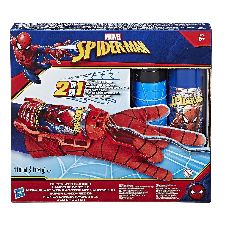 Hasbro Marvel Spider-Man - Guanto Spararagnatele 2-in-1, Acqua e Ragnatele, B9764EM0