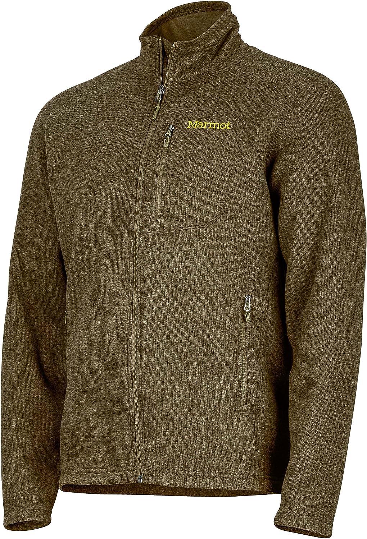 Lightweight 100-Weight Sweater Fleece Jacket Marmot Mens Drop Line