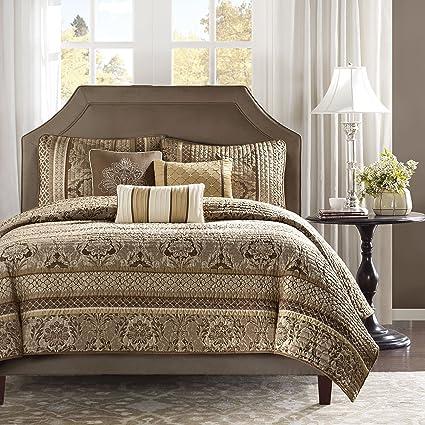 Amazon Madison Park Bellagio Fullqueen Size Quilt Bedding Set