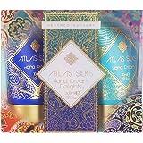 Heathcote & Ivory Atlas Silks Hand Cream Delights 30 ml - Pack of 3