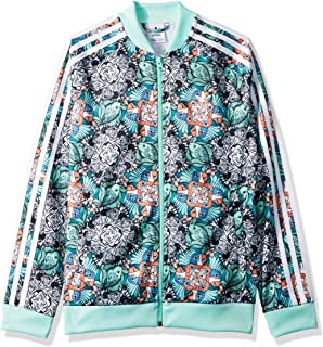 49841c568d2 Amazon.com: adidas Originals Girls' Big Cc Crop Super Star Track ...