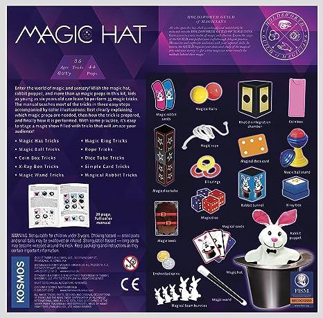 Amazon.com  Thames   Kosmos Magic Hat with 35 Tricks  Toys   Games 3444a168c25b