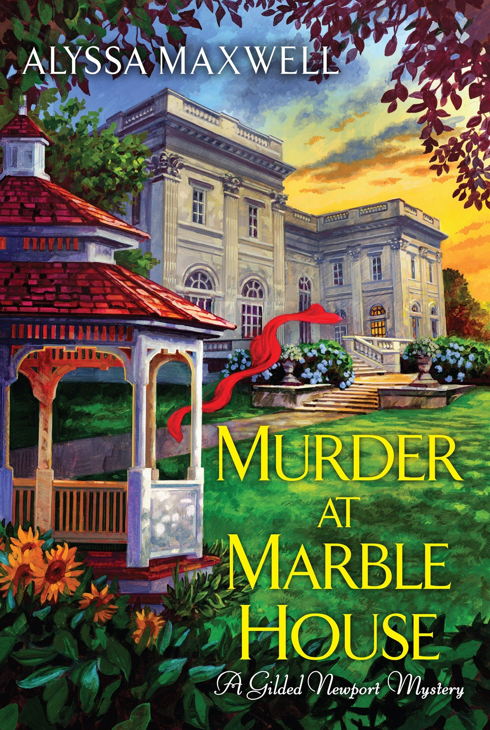 Read Online Murder at Marble House (A Gilded Newport Mystery) pdf epub