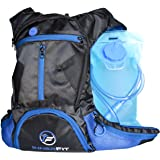 INNERFIT - HYDRATION BACKPACK – 1.5L Water Bladder Backpack – Highly Durable – Water Resistant & Lightweight Running Backpack – Multi Storage – Perfect for Hiking - Climbing - Biking - Cycling - Trail