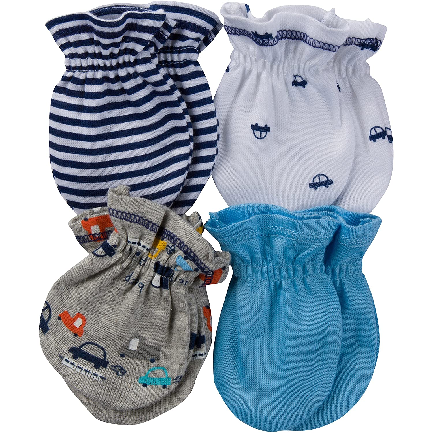 Gerber Baby Boys' 4-Pair Mittens Little Athlete 0-3 Months Gerber Children' s Apparel 98420416AB1803I