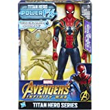 Avengers: Infinity War - Iron Spider Titan Hero Power FX (Personaggio 30cm, Action Figure), E0608103