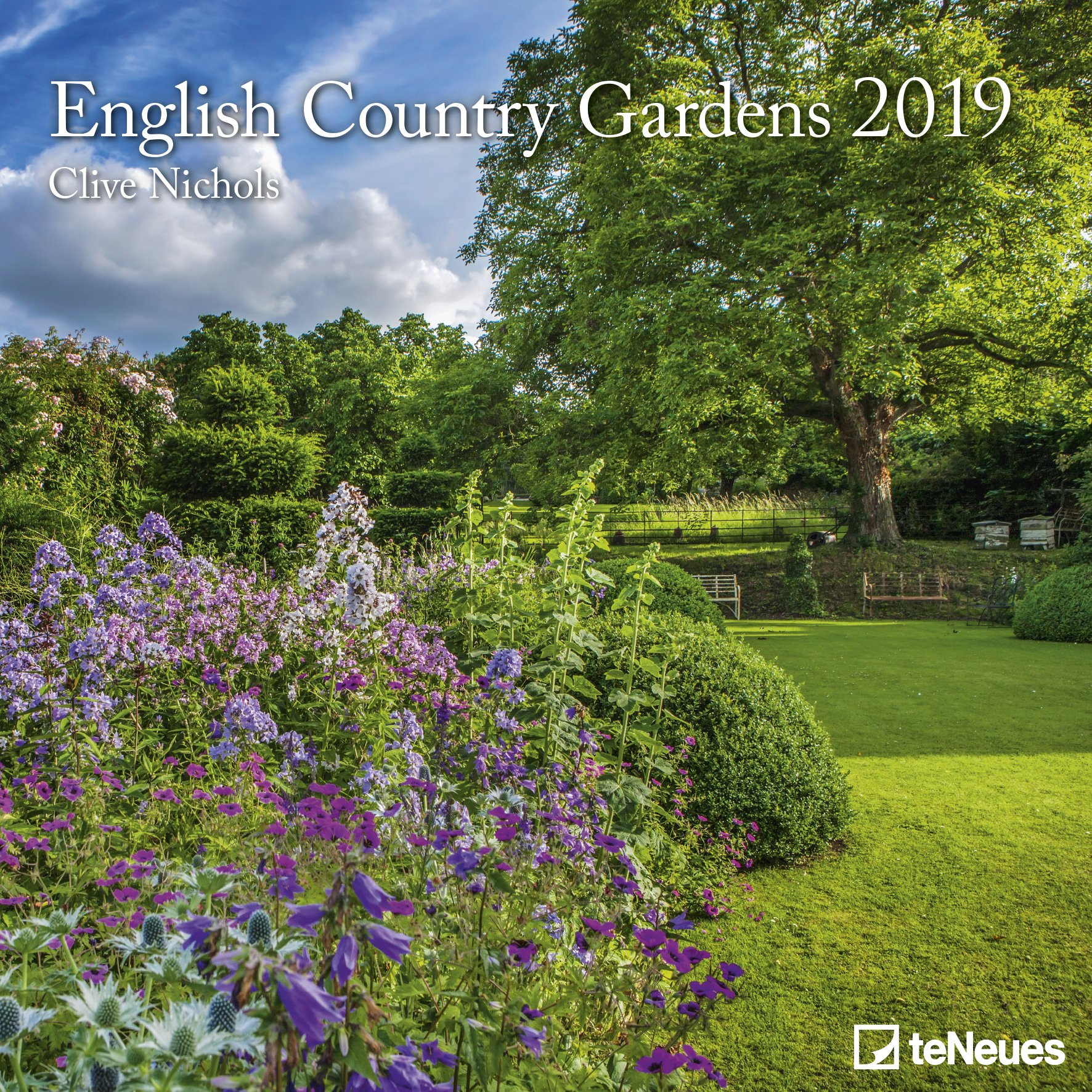 2019 English Country Gardens Calendar Photography Calendar 30 X 30 Cm Wall Calendar English German French Italian And Spanish Edition Teneues Calendars Stationery 4002725957764 Amazon Com Books