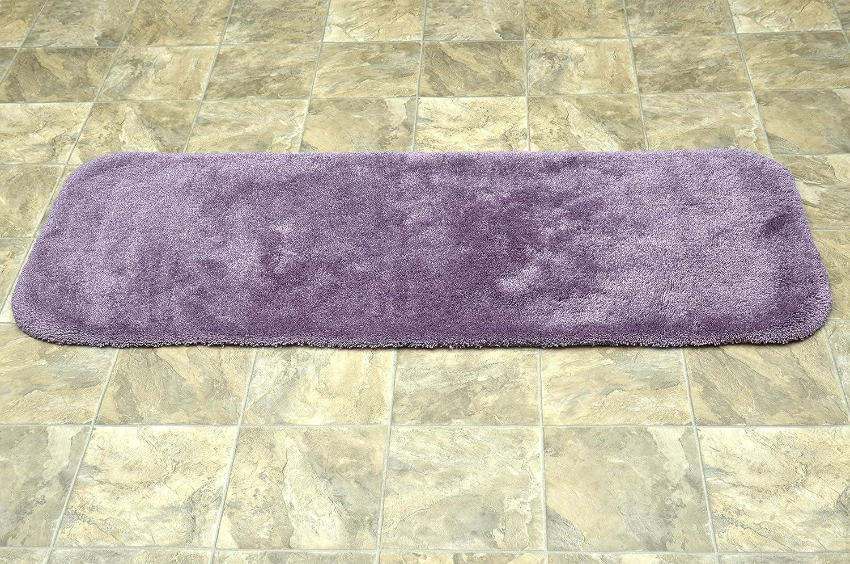 2-Piece Set Platinum Gray Garland Rug BA130W2P04I7 Finest Luxury Bath Rug Set