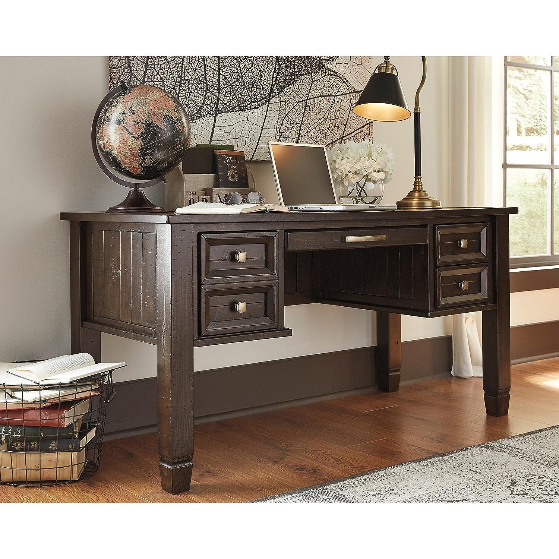 impressive office desk hutch details. Impressive Office Desk Hutch Details. Amazon.com: Ashley Furniture  Signature Design - Townser Details