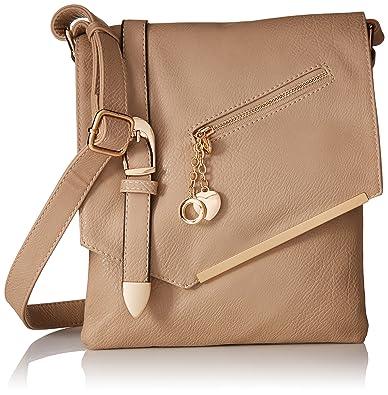6c74485fe0e MKF Collection Jasmine Women Stylish Vintage Crossbody Bag Fashion Flap  over Handbag