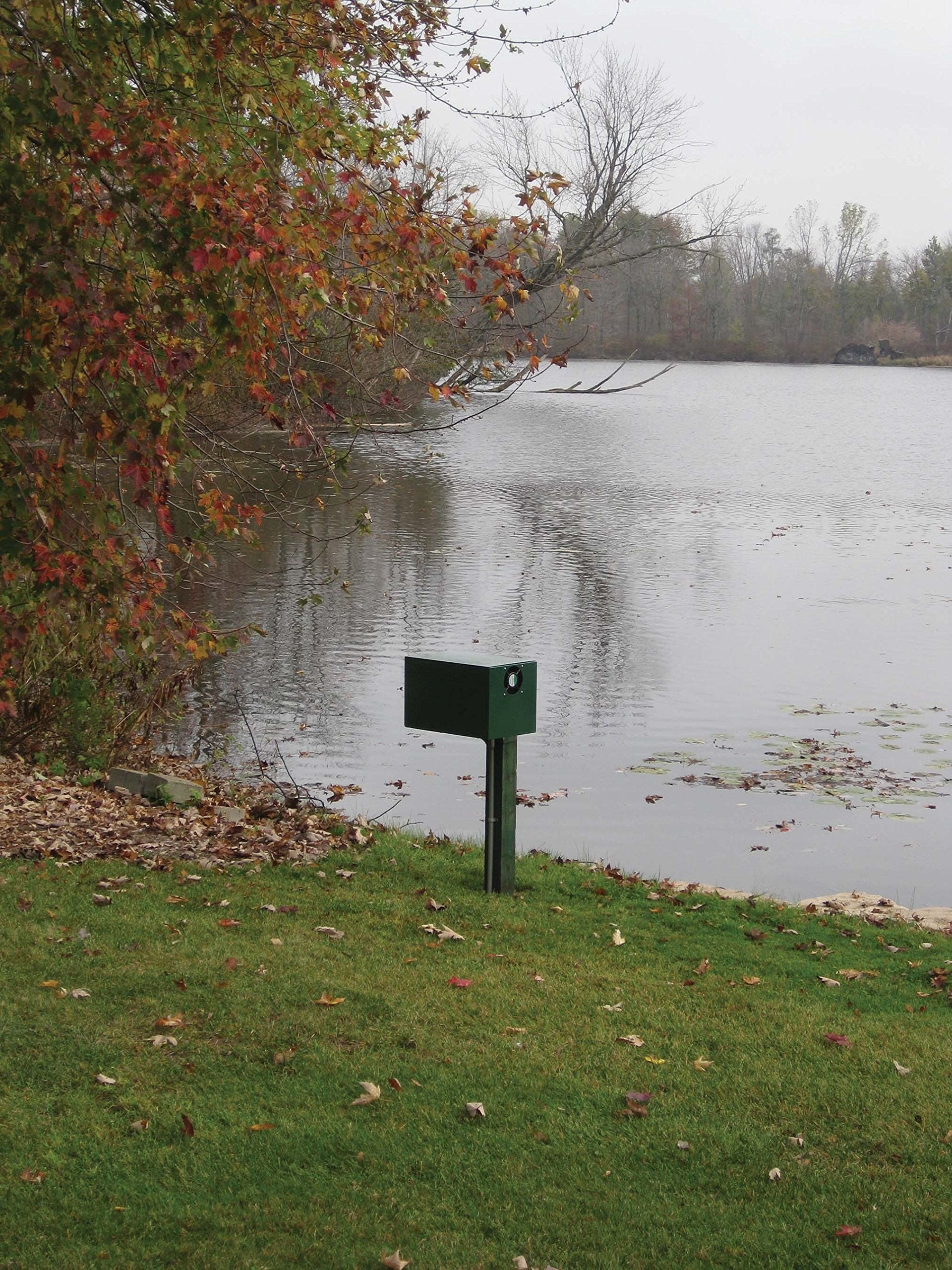 1/2 HP Sentinel Rocking Piston Deluxe Pond Aeration System PA66DP Tubing and Diffusers