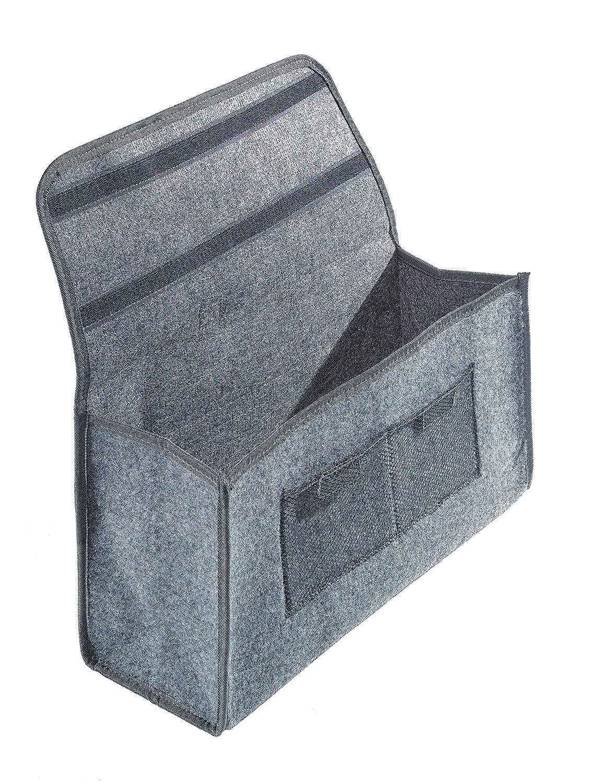 Klappbox Kofferraumbox Faltbox Organizer Autobox Tasche Auto Kofferraum Zubeh/ör CB Pr/äsentwerbung GmbH Filztasche