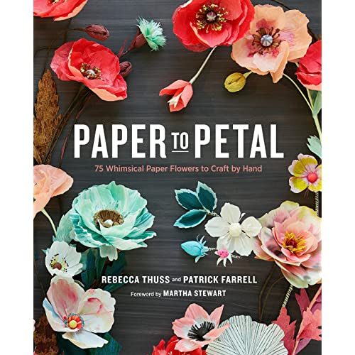 Paper flowers buy paper flowers online at best prices in india paper to petal 75 whimsical paper flowers to craft by hand mightylinksfo
