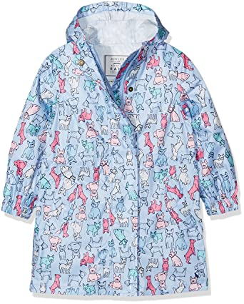 b2163b208289 Amazon.com  Joules Girls  Golightly Packable Rain Coat  Clothing