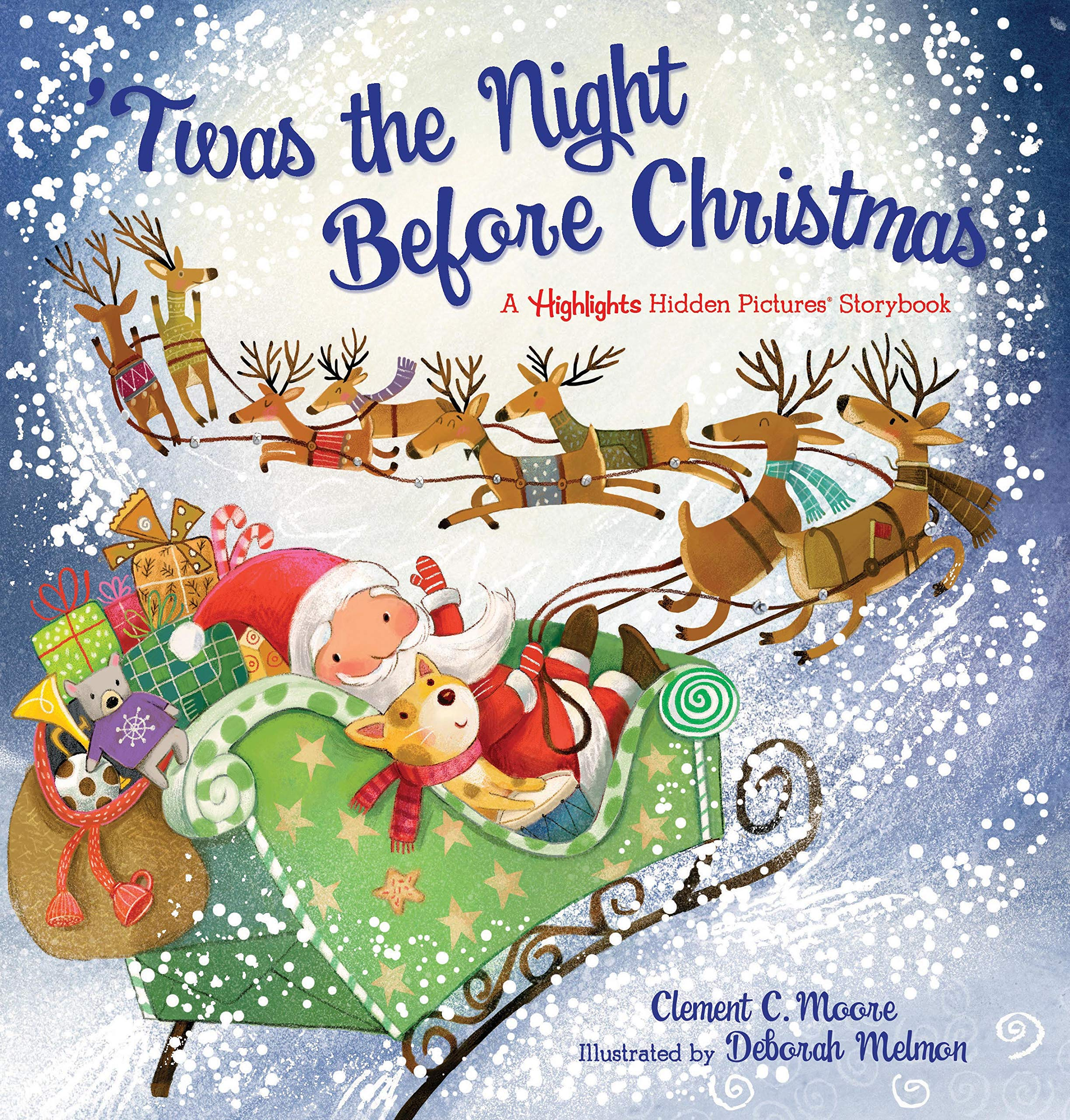 The Night Before Christmas Book Christmas Shelf Elf accessories