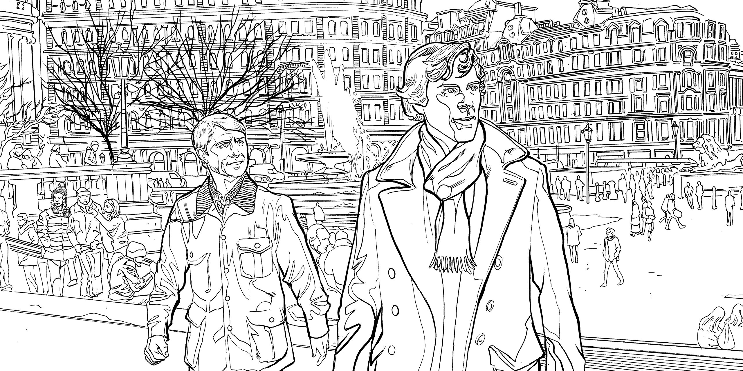 Sherlock The Mind Palace The Official Colouring Book Amazoncouk