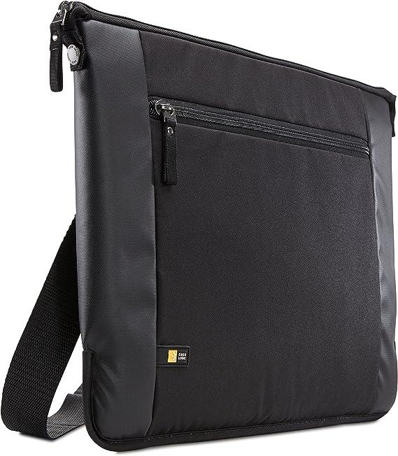 Case Logic Intrata 15.6 Inch Laptop Bag  INT 115 Black  Laptop Messenger   Shoulder Bags