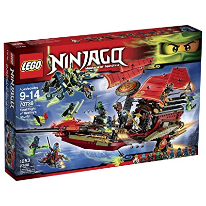 Amazon.com: LEGO Ninjago 70738 Final Flight of Destiny's Bounty ...