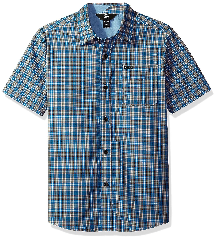 Volcom Boys Big Harper Short Sleeve Shirt Youth