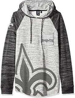a6810ac2 Amazon.com : Ultra Game NFL New Orleans Saints Men's Fleece Hoodie ...