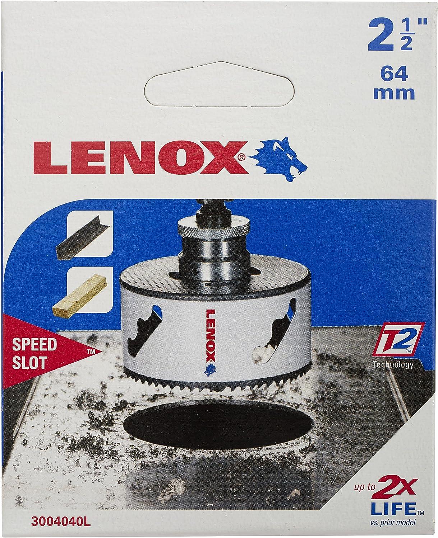Lenox 3002020L SPEED SLOT 2 metales, 32 mm de di/ámetro Sierra de corona