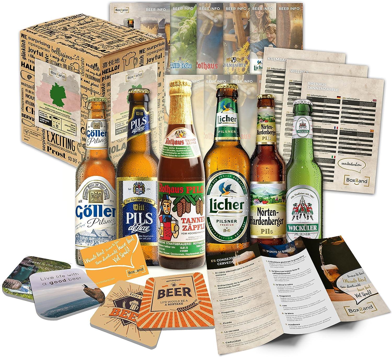 6 Especialidades de Cerveza Alemana