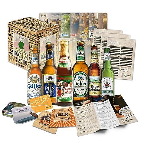 """""""6 Especialidades de Cerveza Alemana"""" Colección de la mejor cerveza alemana. Una"""