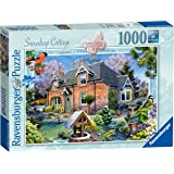 Ravensburger 19768 maison de campagne collection snowdrop cottage 1000pc puzzle