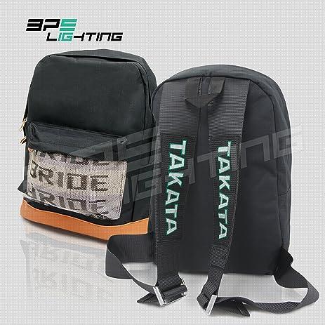 A1urtzgOkiL._SY463_ amazon com bps lighting jdm bride racing backpack brown bottom with