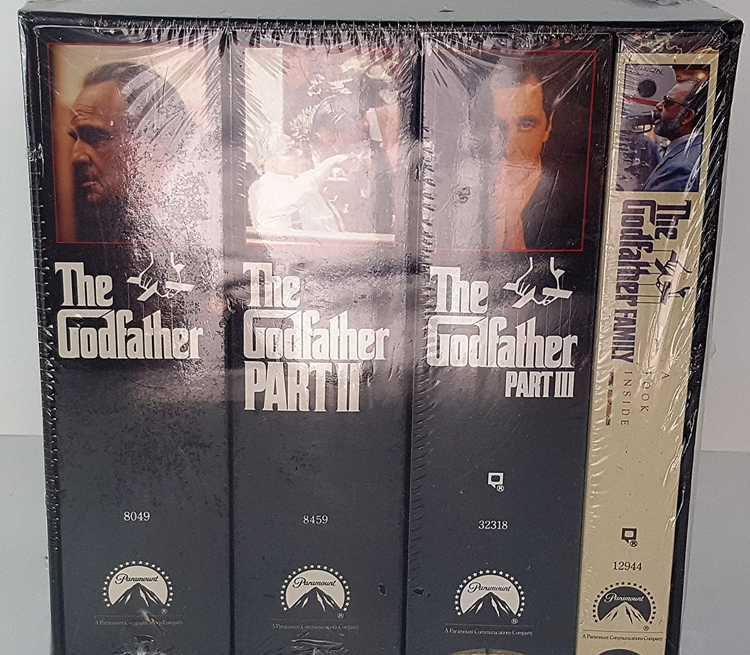 Amazon the godfather collectors edition part i part ii part amazon the godfather collectors edition part i part ii part iii the godfather family tape movies tv thecheapjerseys Gallery
