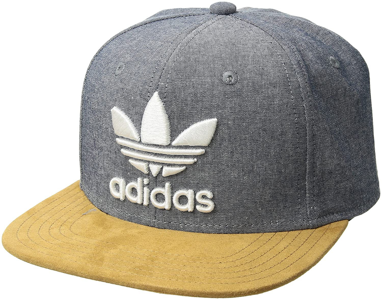 Amazon.com  adidas Men s Originals Trefoil Plus Precurve Structured ... 1fba8817e55b