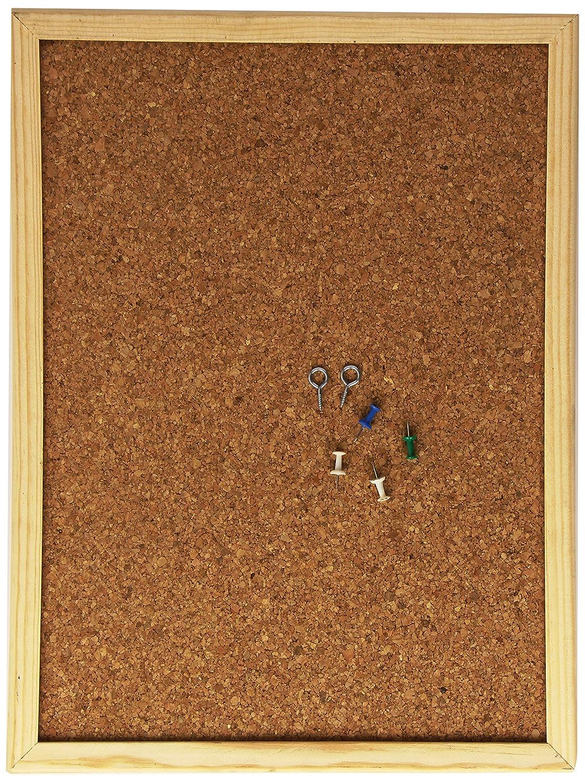 Makro Paper 220225 – Bacheca in sughero, 30 x 40 cm,colore: Legno Makro Paper SP.SL