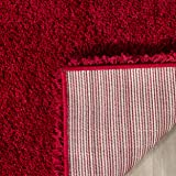 Safavieh Milan Shag Collection SG180-4040 Red