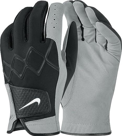 Nike WeatherPair regolare IIIGuanti da uomo colore nero/bianco/grigio