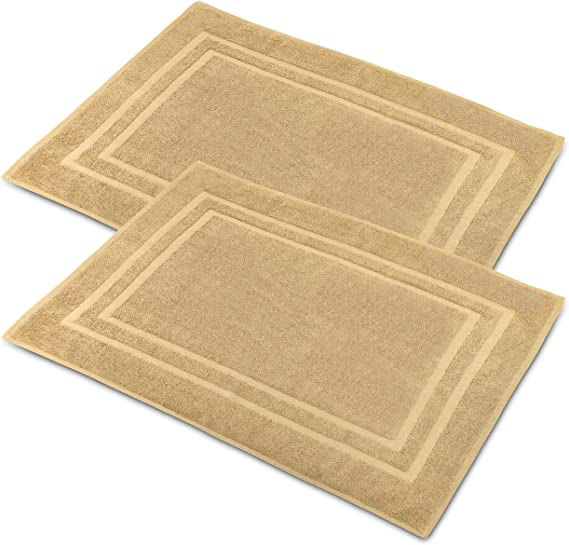 VEEYOO Bath Mat 100/%Cotton Size 20*32 Inch New In Original Packaging 2 Pieces