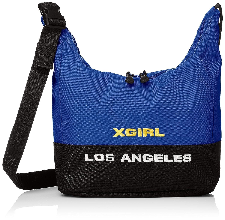 [エックスガール] SHOULDER BAG BI COLOR SHOULDER BAG 05181022 B079X1SR6Z ブルー ブルー