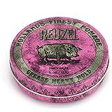 REUZEL INC Pink Pomade Grease, Heavy Hold, 4 oz
