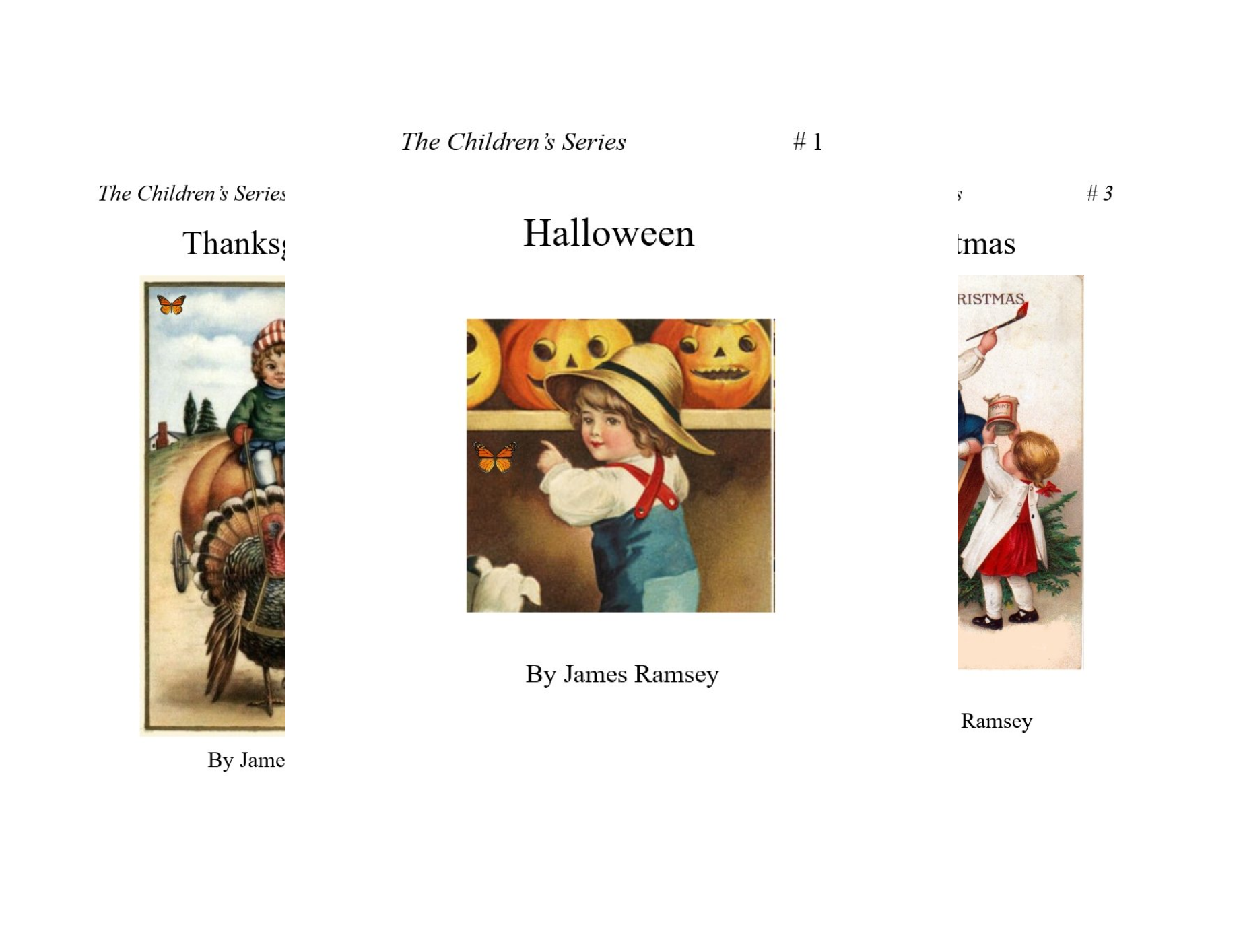 The Children Series (3 Book -