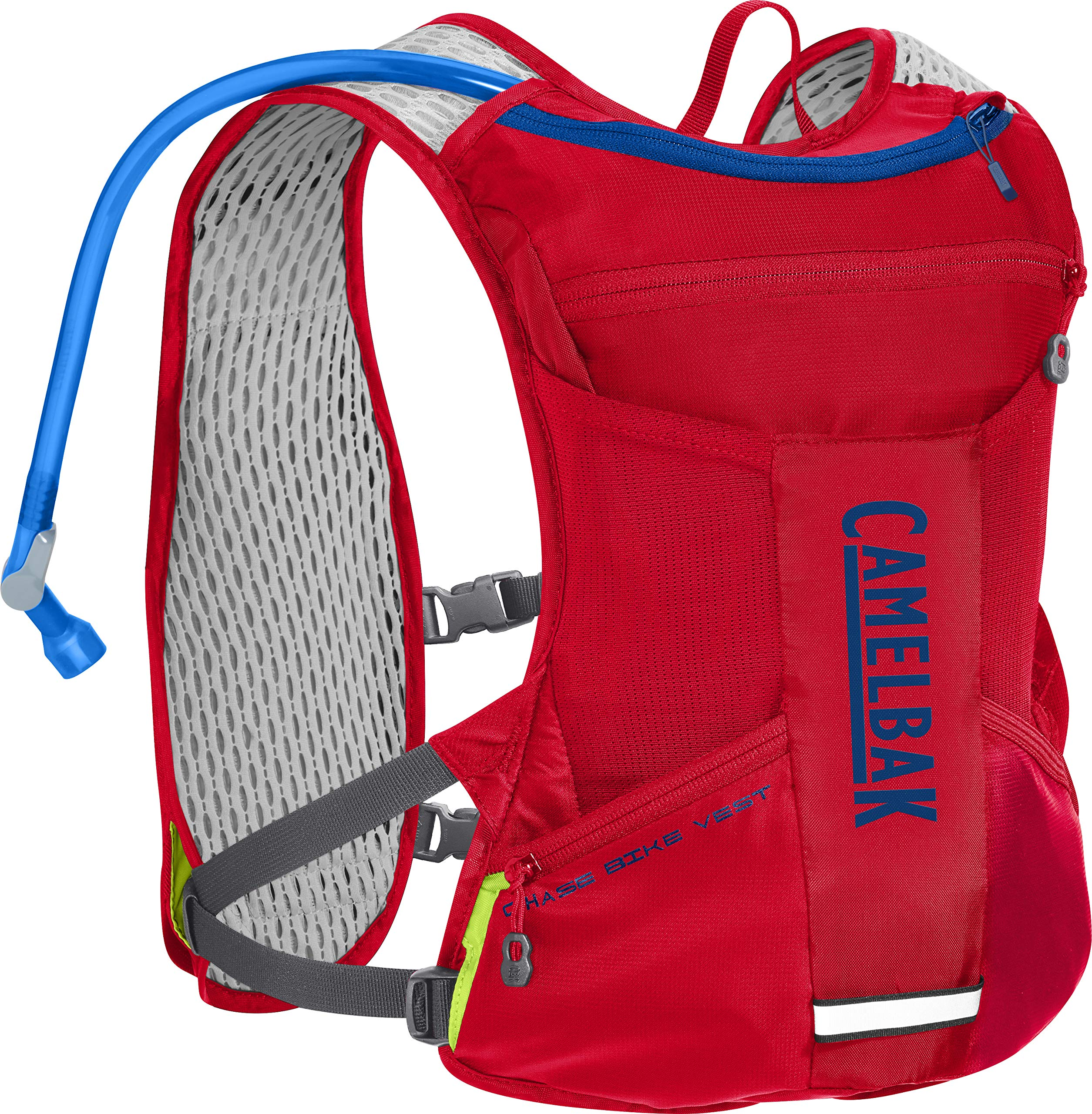 CamelBak Chase Bike Vest 50 oz, Racing Red/Pitch Blue, One Size by CamelBak (Image #1)