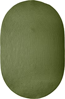 product image for Colonial Mills Boca Raton Area Rug 6x9 Moss Green
