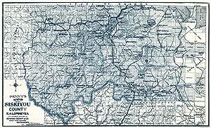 Denny 1905-37.94 x 23 Siskiyou County California