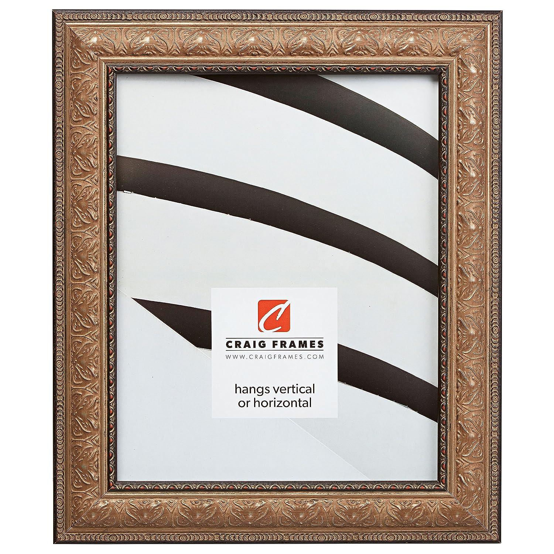 Craig Frames 写真用額縁 装飾仕上げ 幅 0.75~2 インチ カラーと仕上げは各種取り揃え 8 x 12 ゴールド 95340812AC B005T2VRG0 8 x 12,1.5
