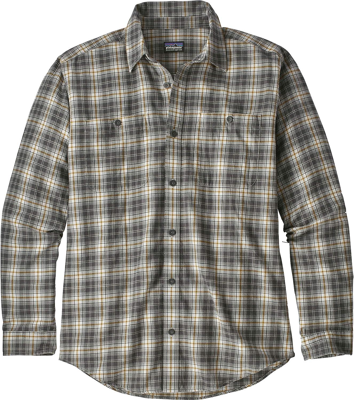 Patagonia Herren Hemd Long Sleeve Pima Coton SH