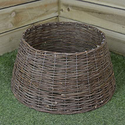 44cb26060bd4 Kaemingk - Willow Christmas Tree Ring - 57cm - Brown: Amazon.co.uk: Kitchen  & Home