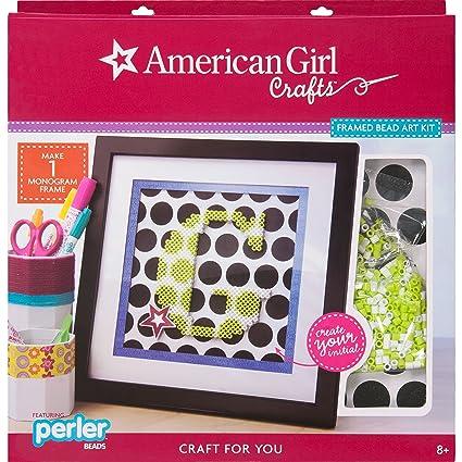 Amazon com: American Girl Crafts Framed Perler Bead