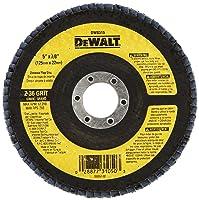 DEWALT DW8315 5-Inch by 7/8-Inch 36-grit Zirconia Flap Disc
