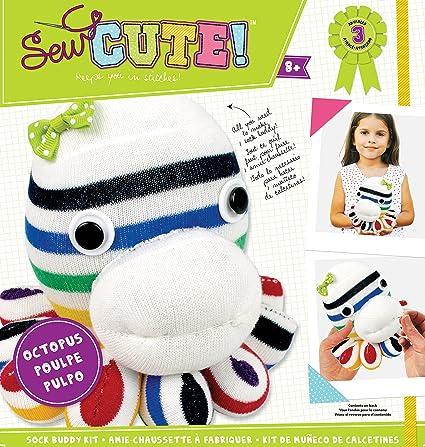 Colorbok Sew Cute Sock Buddy Octopus Kit