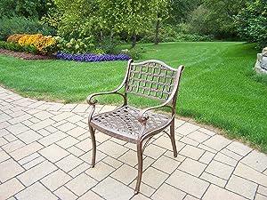 Oakland Living Elite Cast Aluminum Chair