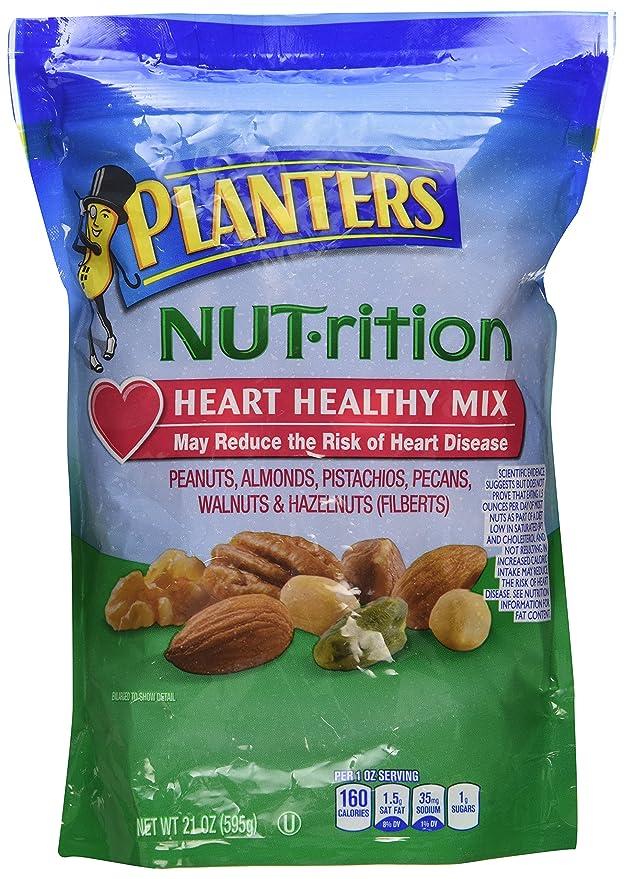 Amazon.com : Planters Mixed Nuts, Healthy Mix, 21 Ounce (Pack ... on planters snack mix, planters peanuts candies, peanuts fruit snacks, planters mixed nuts, planters corn snacks,