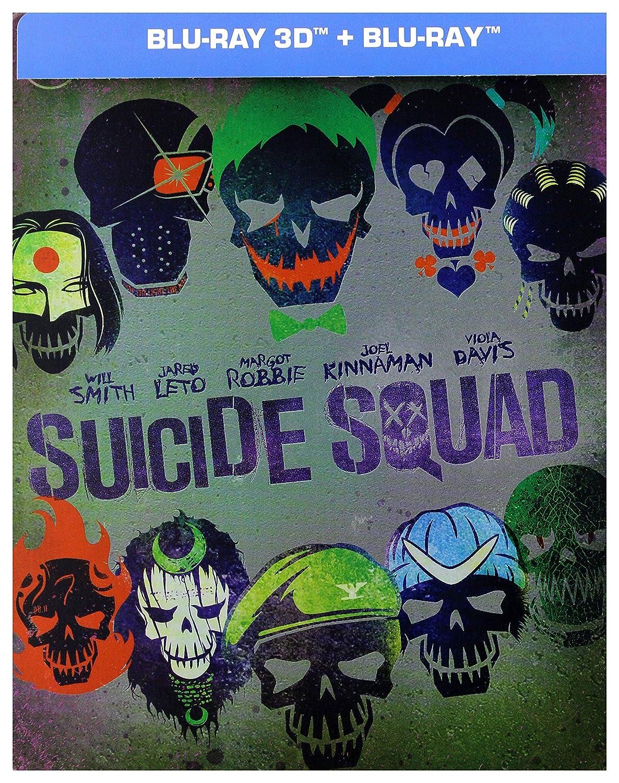 Suicide Squad Steelbook Blu-Ray + Blu-Ray 3D Region B IMPORT No hay versión española: Amazon.es: Scott Eastwood, Margot Robbie, Will Smith, Ben Affleck, Cara Delevingne, Jared Leto, Jai Courtney, Ike Barinholtz, Joel